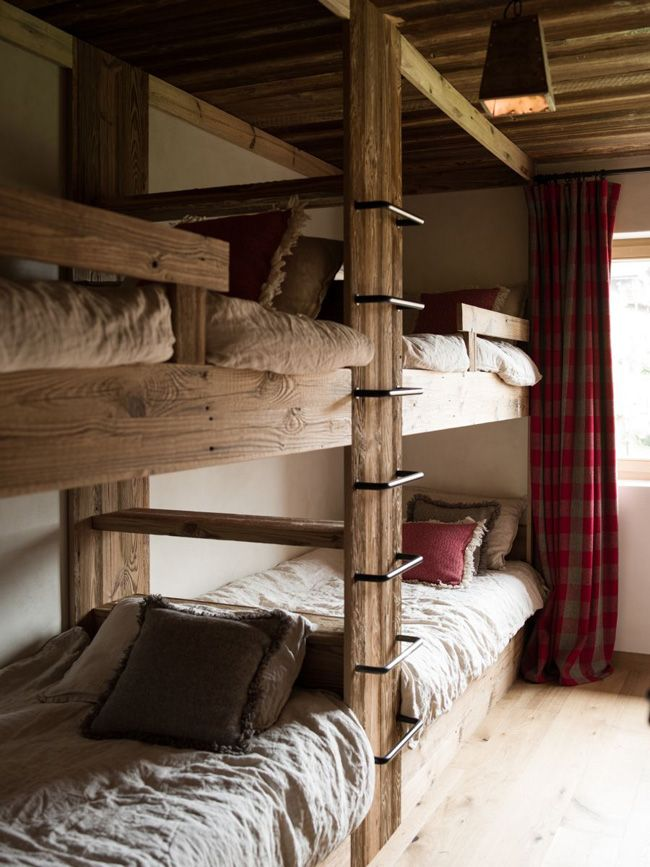 Pin By Interior Designer In A Box On Kids Teenager: I Had To Share Another Refined Rustic Chalet In The