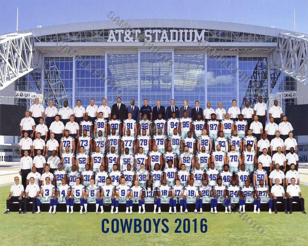 2016 Dallas Cowboys Football Team 8x10 Photo Picture Ezekiel