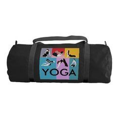 903d7ee2caf6 YOGA - Gym Duffel Ba  menfitness  gym  gymbag  exercisebag  mensbag ...