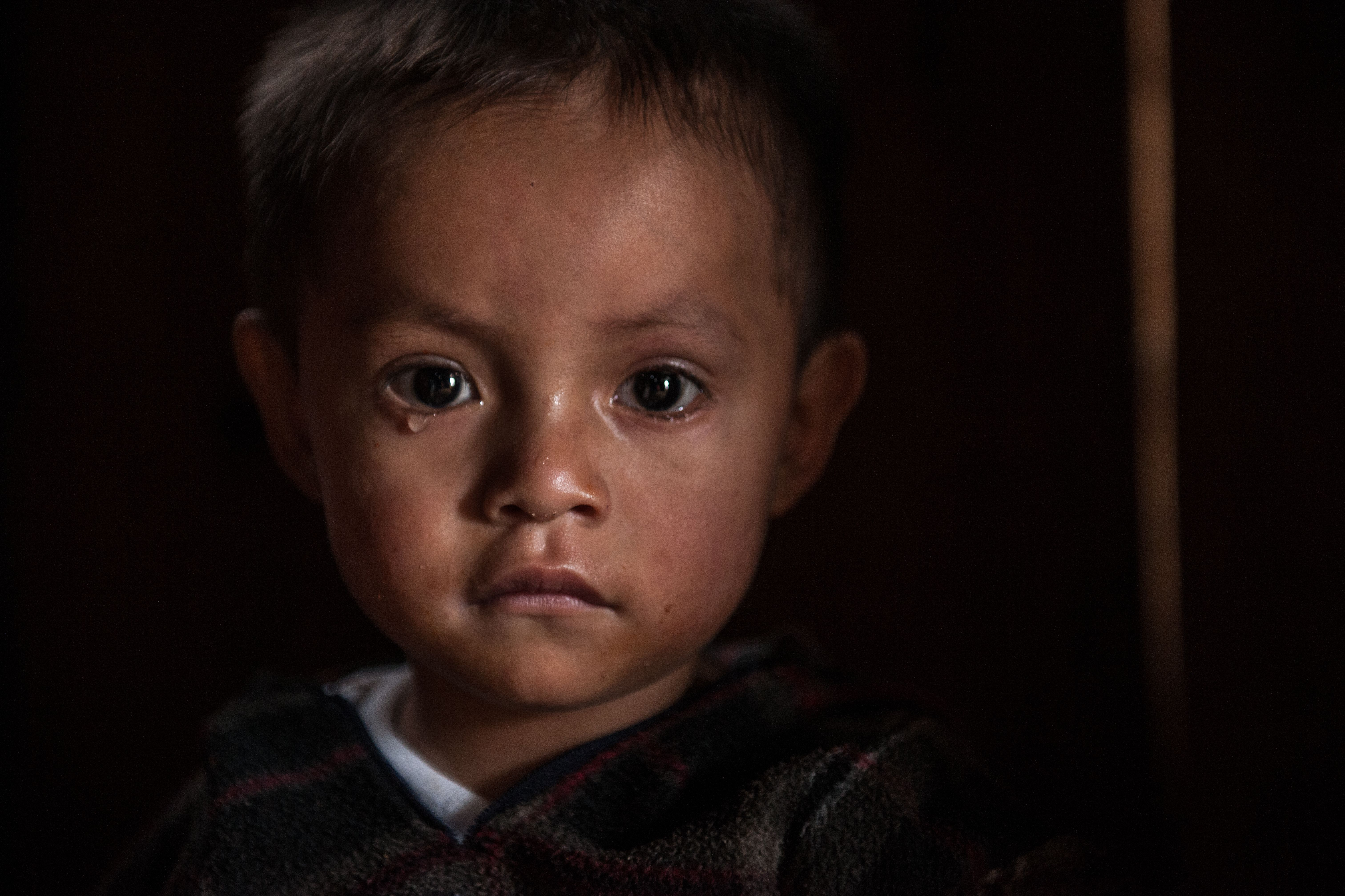 SHANTY HOUSE CHILD  MEXICAN MOUNTIANS #poverty #gf_mexico #film
