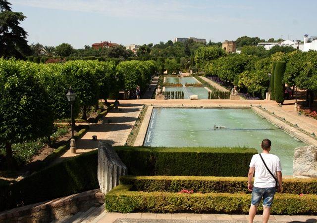 Gärten des Alcazar in Cordoba