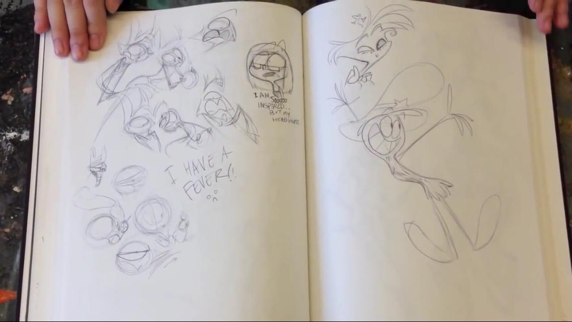 vivziepop sketchbook