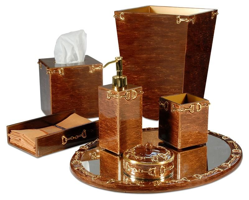 Bath Accessory Sets Copper Accents Bathroom Accessories Bathroom Accents Hampton