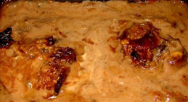 Oven Baked Pork Chops and Rice