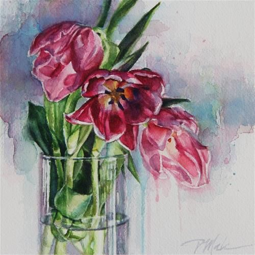Pink Tulips - Tracy Male