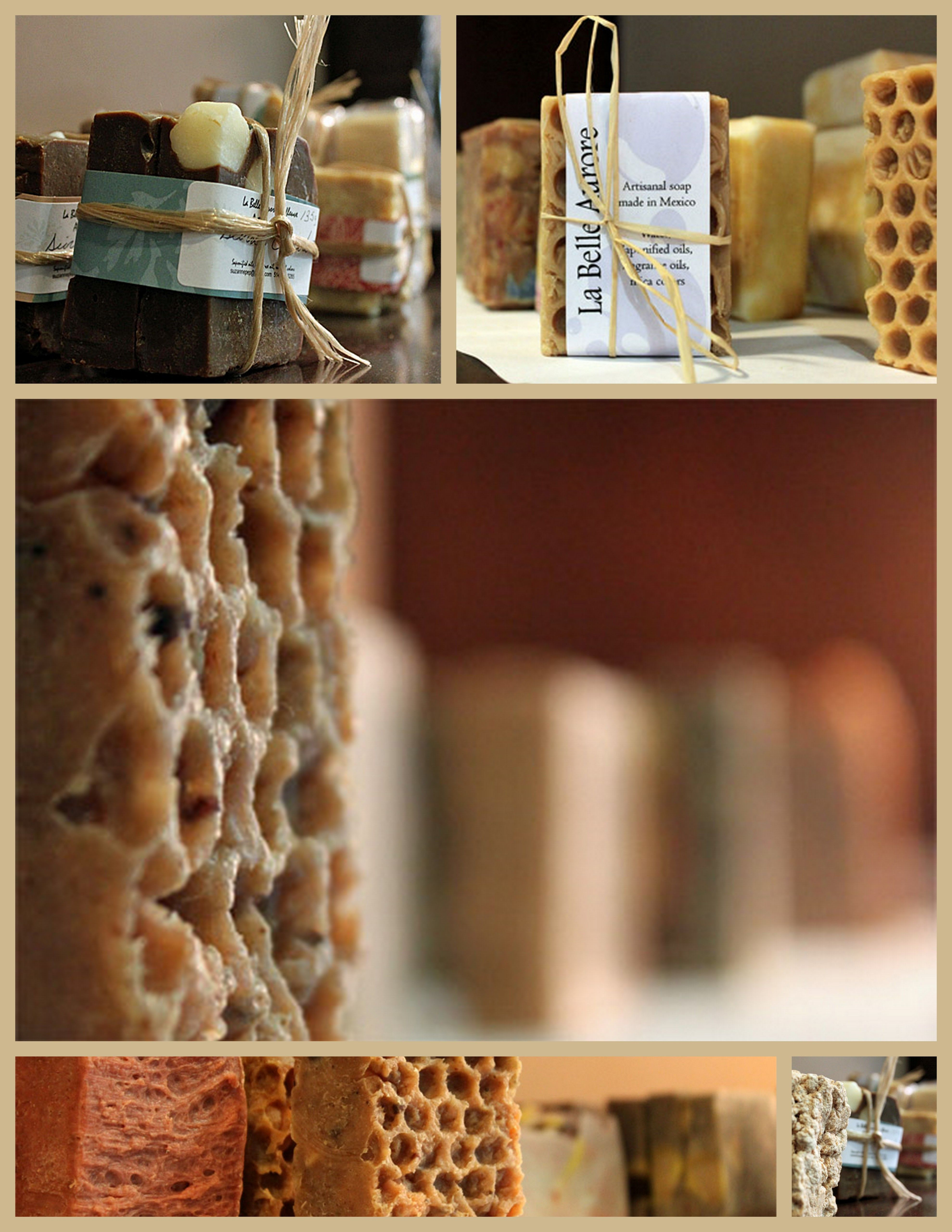I am in love with my handmade soaps wrappings trappings and