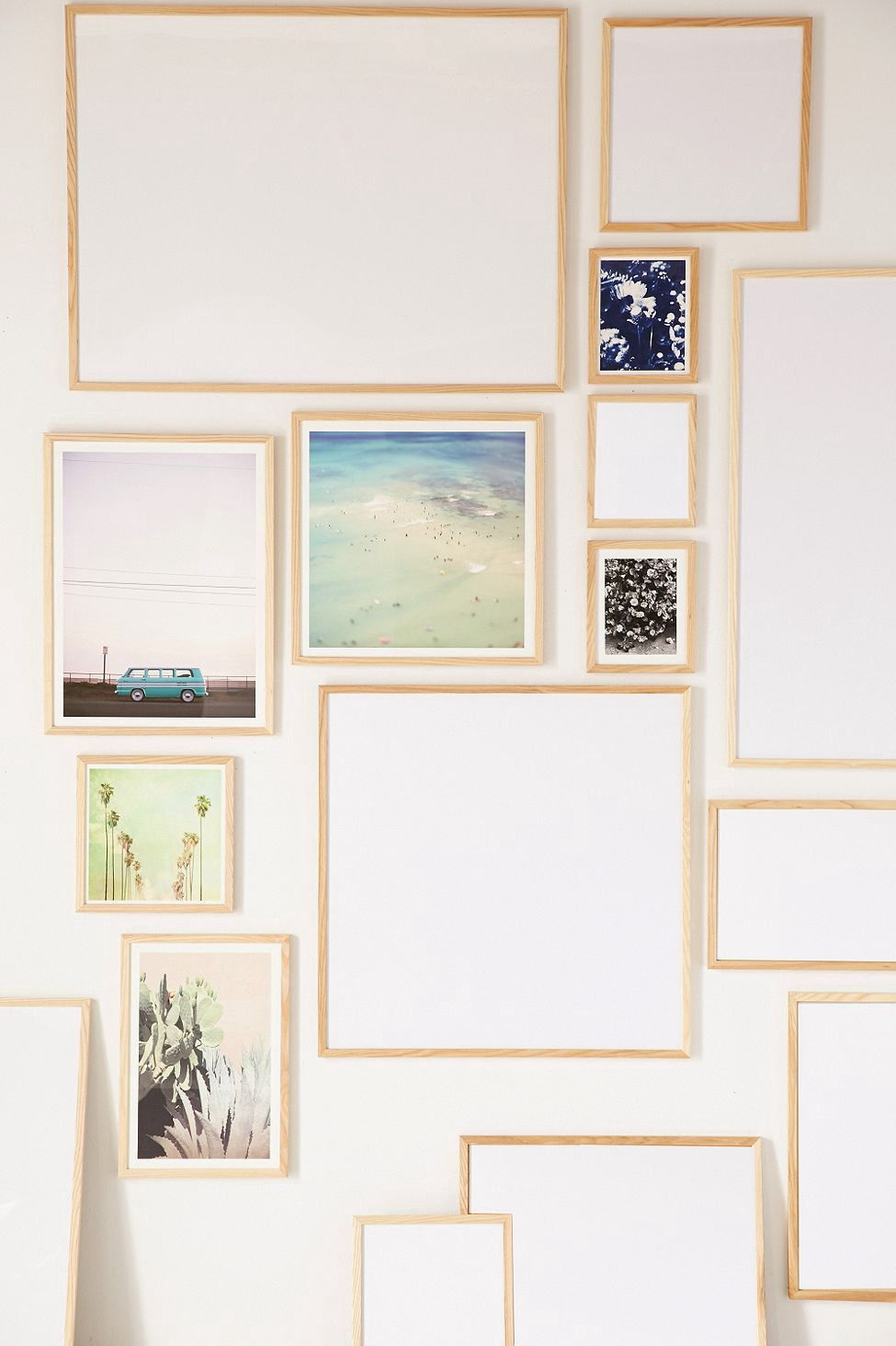 Natural wood art print frame by urban outfitters products