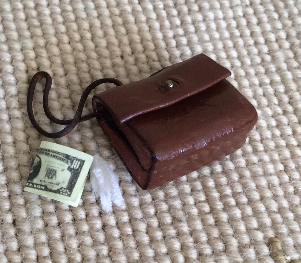 Pat Tyler Artisan Purse Hand Bag Luggage Valise - Dollhouse Miniature 1:12 #PatTyler