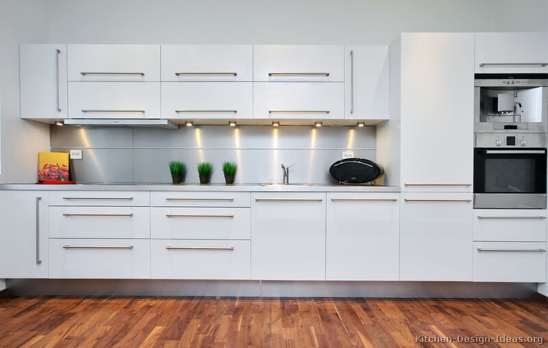 Pictures Of Kitchens Modern White Kitchen Cabinets Modern White Kitchen Cabinets White Modern Kitchen Modern Kitchen Design