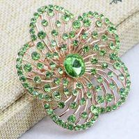 Lujo de La Flor Broches de Joyería de Moda Broche de la Boda de Bricolaje Para Mujeres Ropa Decoración de Cumpleaños regalo de La Joyería