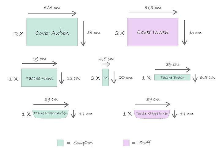 Instrukcje DIY: Notebook Przykryć SnapPap