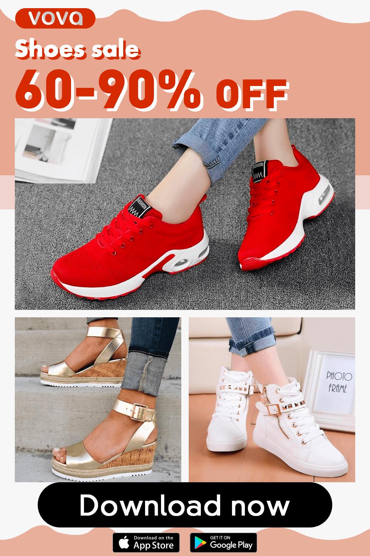 SaleEnjoy on AppCute 90off sneakers Fall Vova 60 OiTwPukXZ