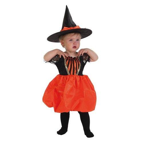 Disfraz Bruja Calabaza Bebe 0 a 12 meses Disfraces de Brujo y