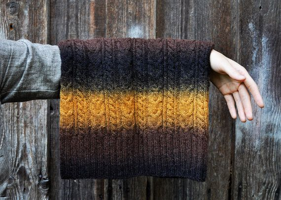 100  wool handknitted cowl snood from kauni yarn   u043e u0442 kauni  u043d u0430 etsy