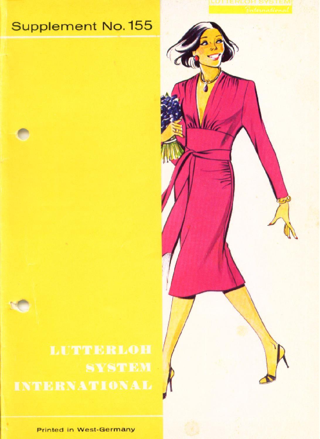 Lutterloh winter pattern drafting fashion patterns and