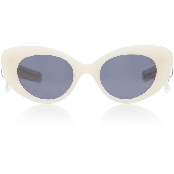 MO Exclusive Poms & Pared Acetate Cat-Eye Sunglasses Pared Eyewear hvhuqv11qx