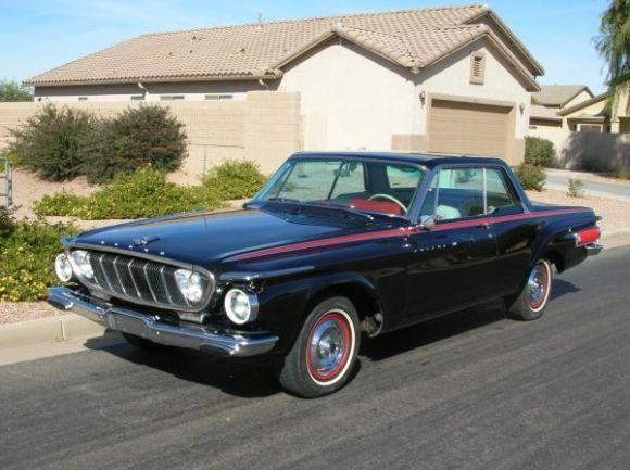 We don't often see 1962 Dodge Polara 500 2-door hardtops, let alone