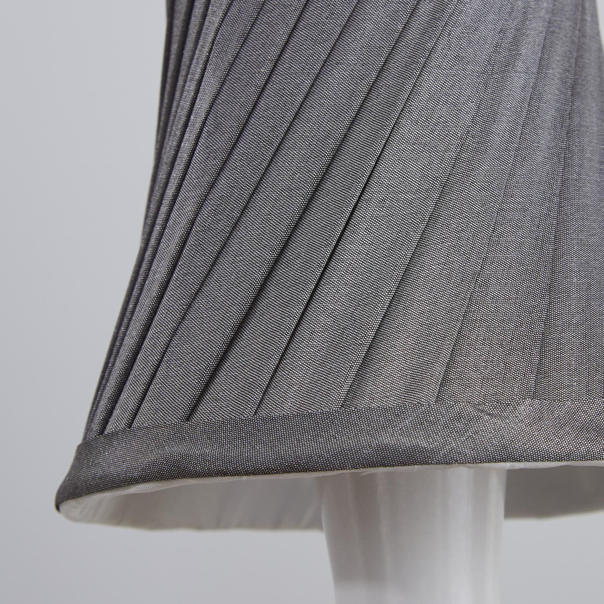 12cm fashion gray silver color Chandelier lace Lamp Shades