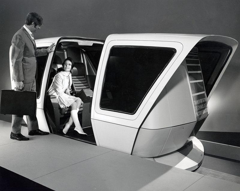 Transportation Technology Incorporated People Mover 1971