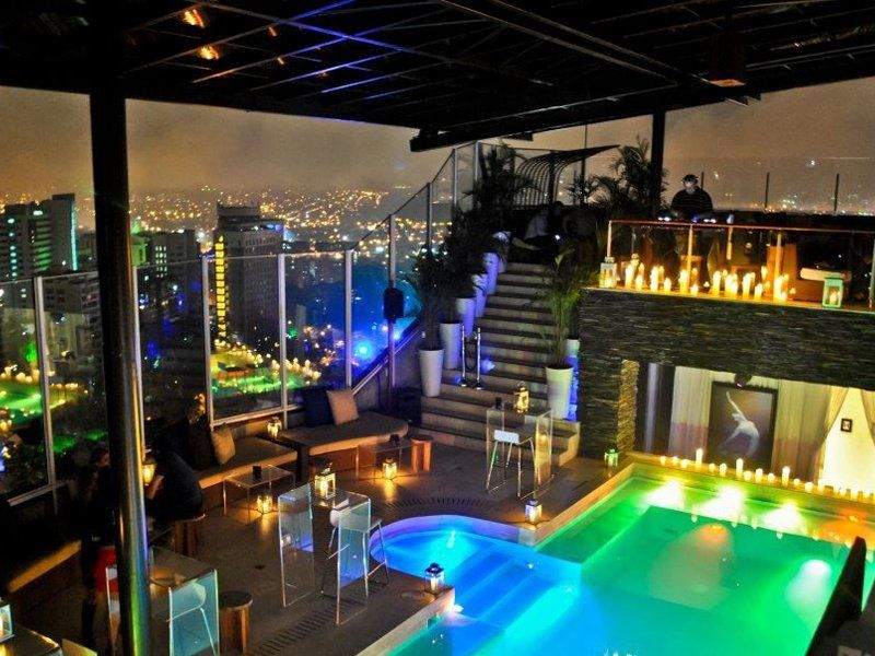 The Charlee Medellin Colombia Boutique Hotel Rooftop