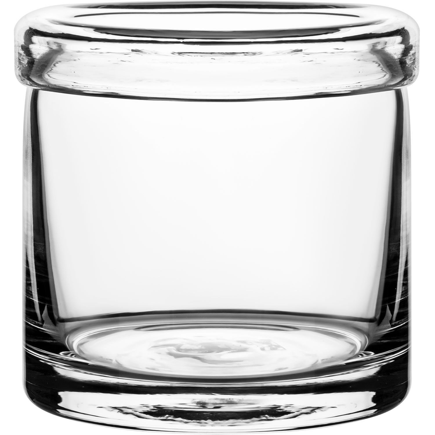 Storage jar from Ernst, made of glass.