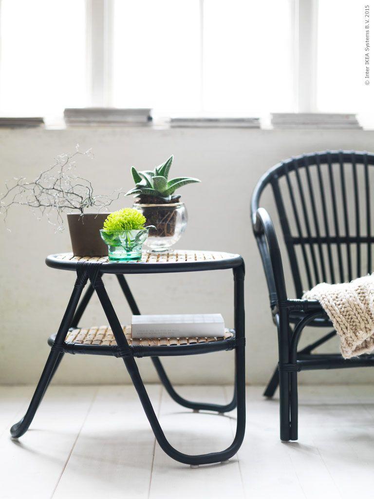 NIPPRIG 2015 sidobord och fåtölj.   Ikea, Stolar, Möbelidéer