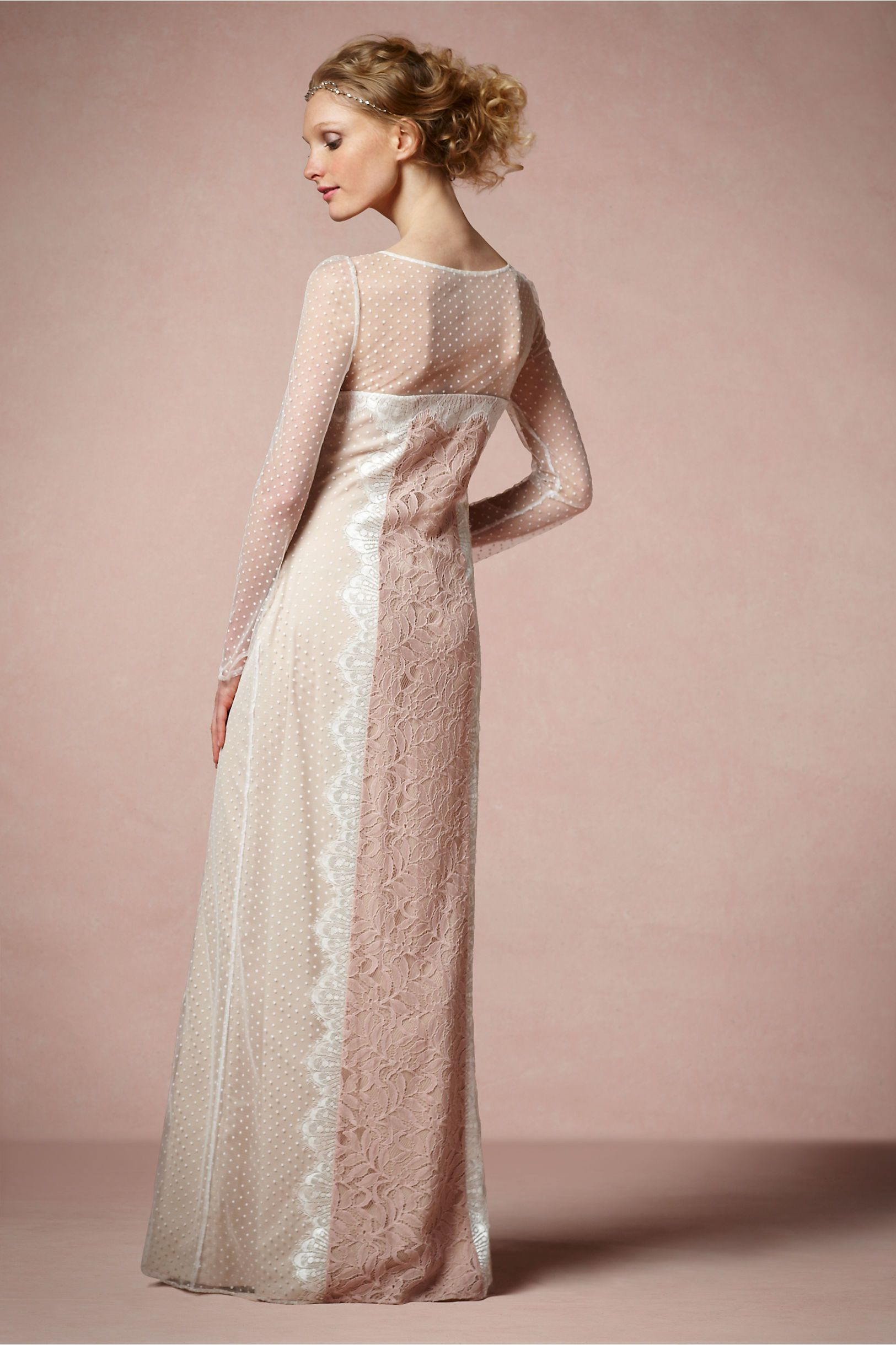 Cheap wedding dresses for military brides  Lace Inlay Dress from BHLDN  Bridal  Pinterest  Military ball