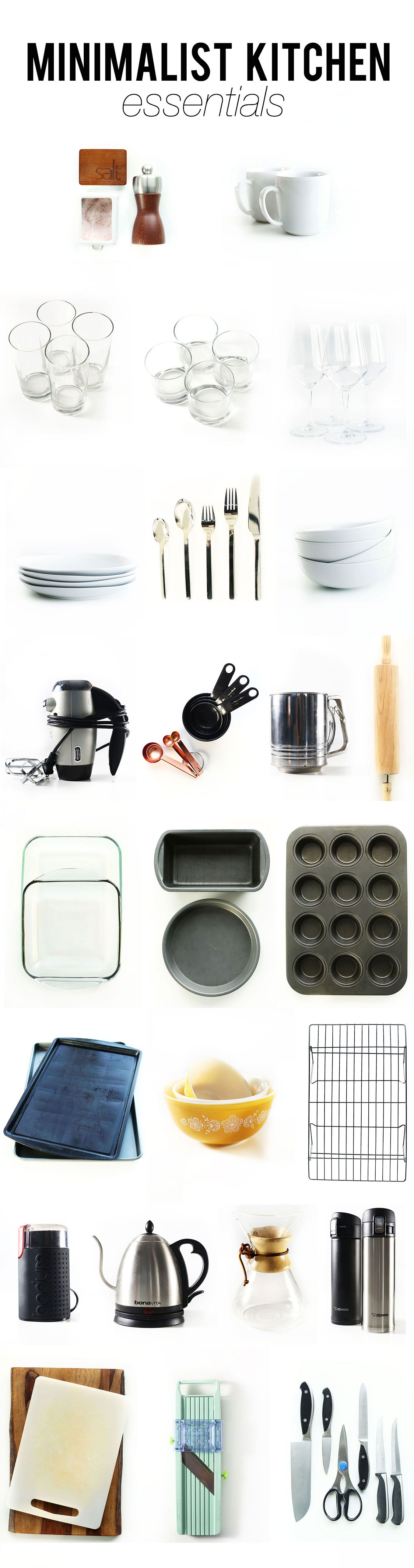 Minimalist Kitchen Essentials | MinimalistBaker.com | lovely things ...