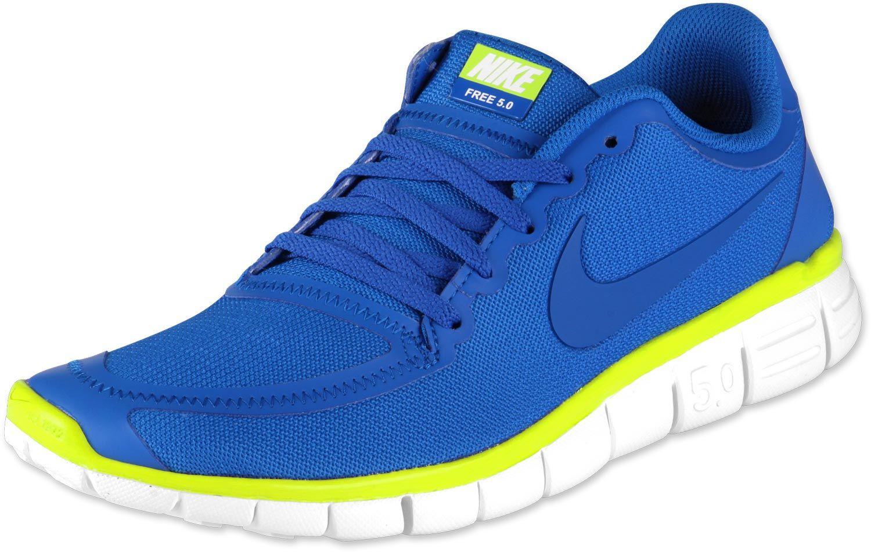 save off d6ef6 7c0da Neon Blau  zurück Home Nike Free 5.0 V4 Schuhe blau neon grün