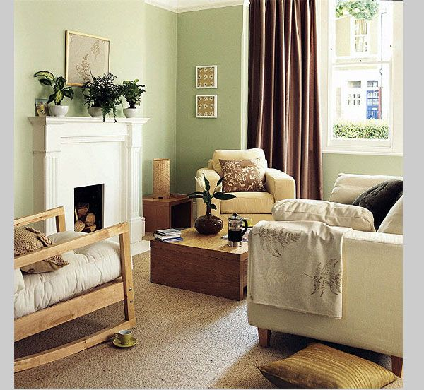 Cost effective living room done well in a small space Cozy yet very