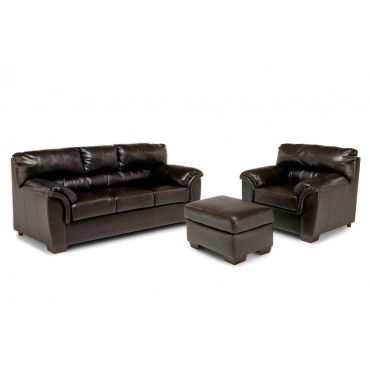 Terrific Bobs Furniture Mckenna 3 Piece Set With Ottoman Living Evergreenethics Interior Chair Design Evergreenethicsorg