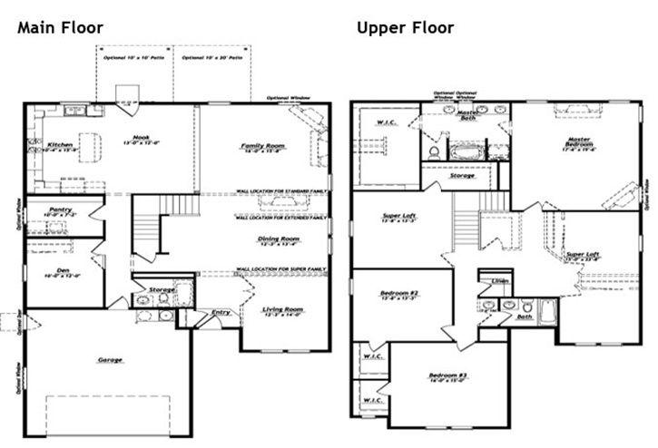Hubble Homes - Floor Plan Details