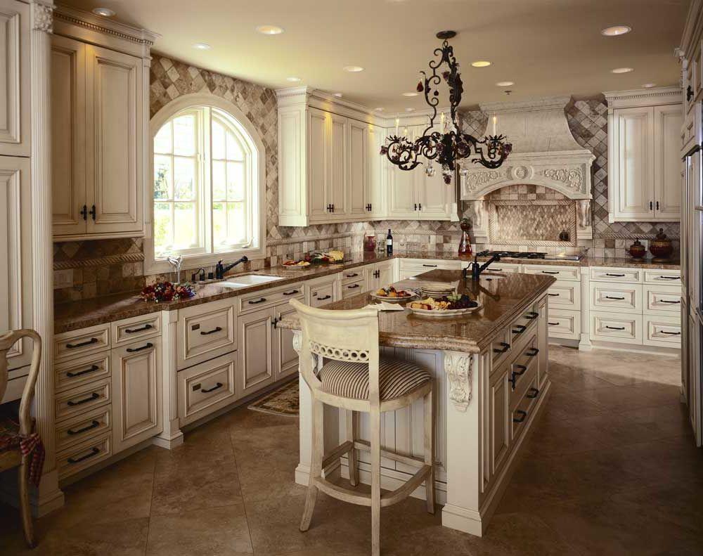 Best Antique White Kitchens images Antique White Kitchens ...