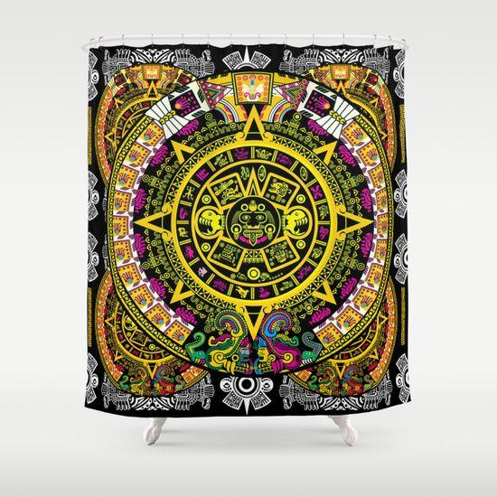 Fabric Pattern Shower Curtain