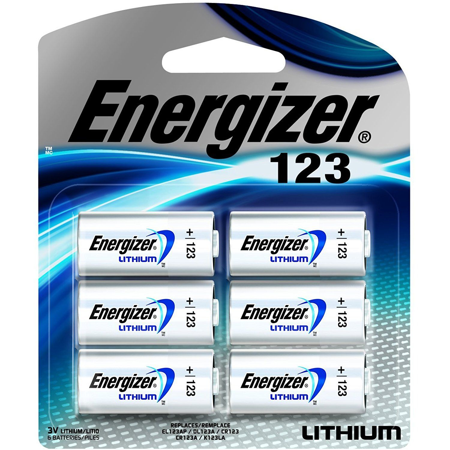 Energizer Cr123a Lithium 3v Battery 123 Cr123 Batteries 6 Count Packaging May Vary Click On The Image For Energizer Lithium Battery Energizer Battery