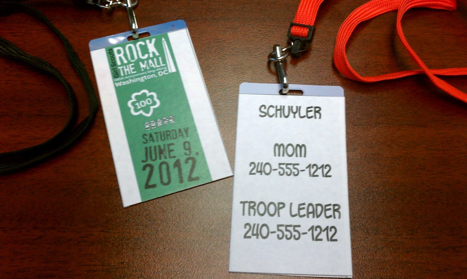 good idea for troop travel - must remember for savannah trip