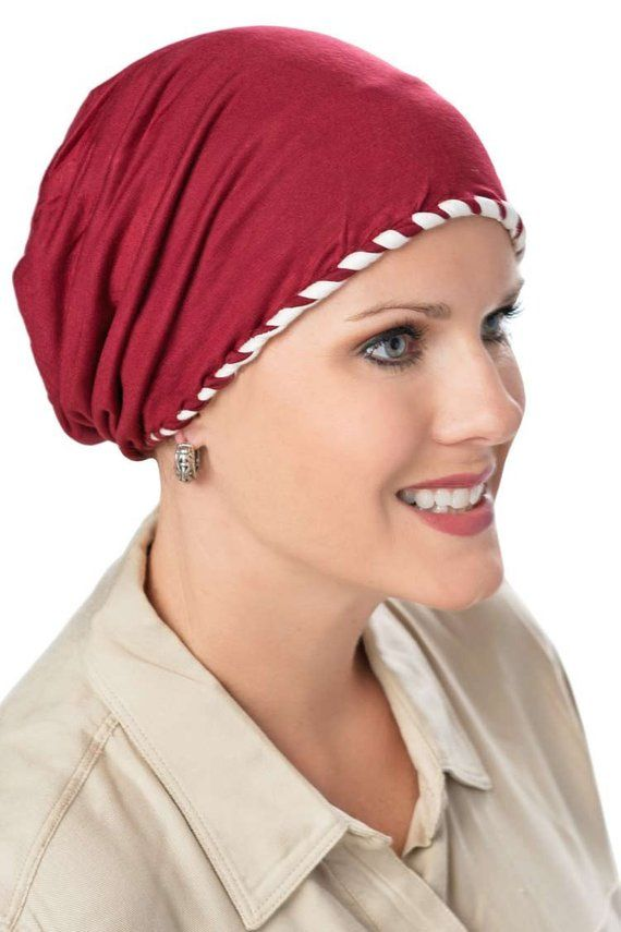 Laced Cap in Luxury Bamboo - Soft Hats for Cancer Patients 9fbc1d4128d
