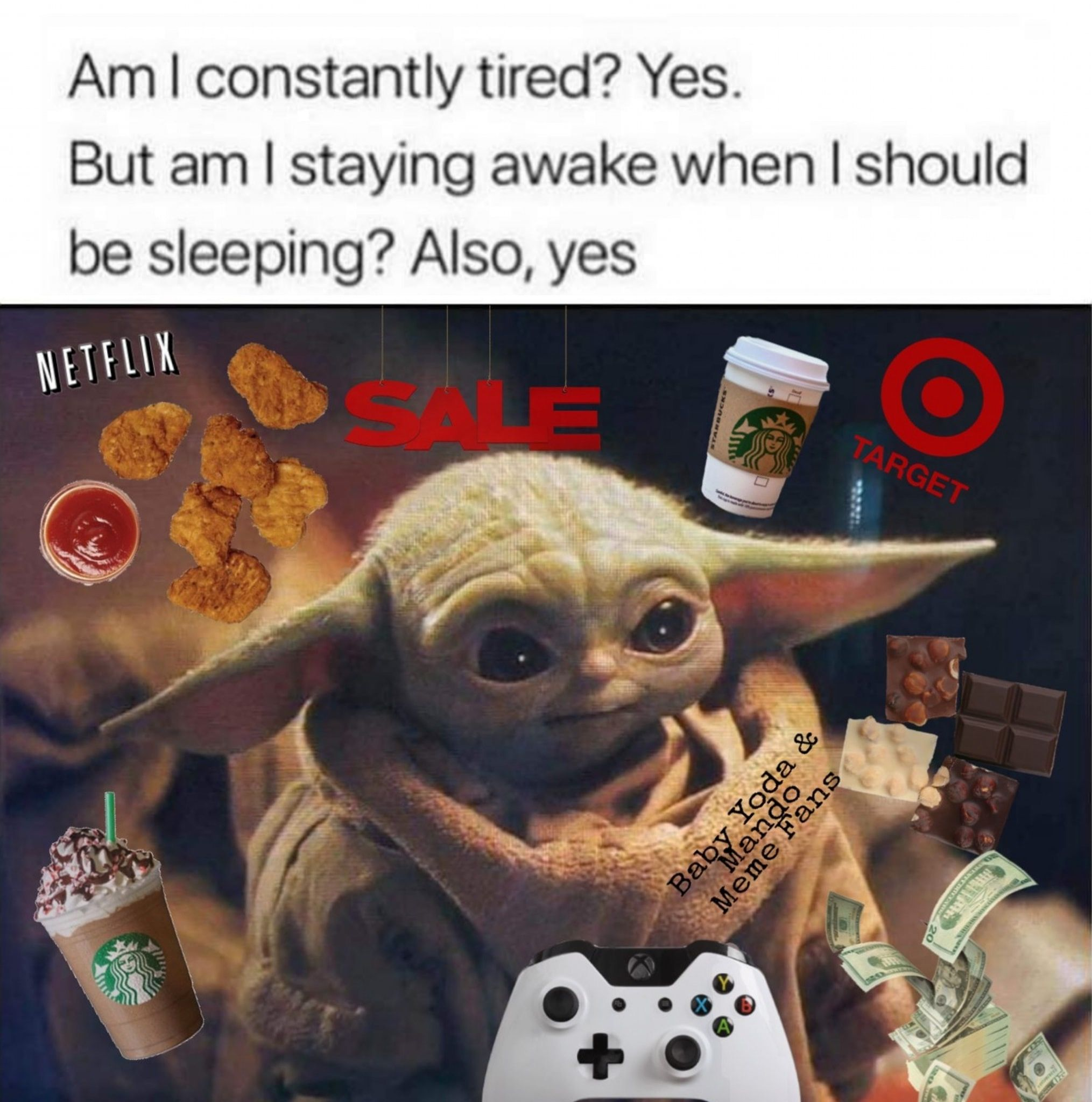 Baby Yoda In 2020 Yoda Funny Yoda Meme Funny Relatable Memes
