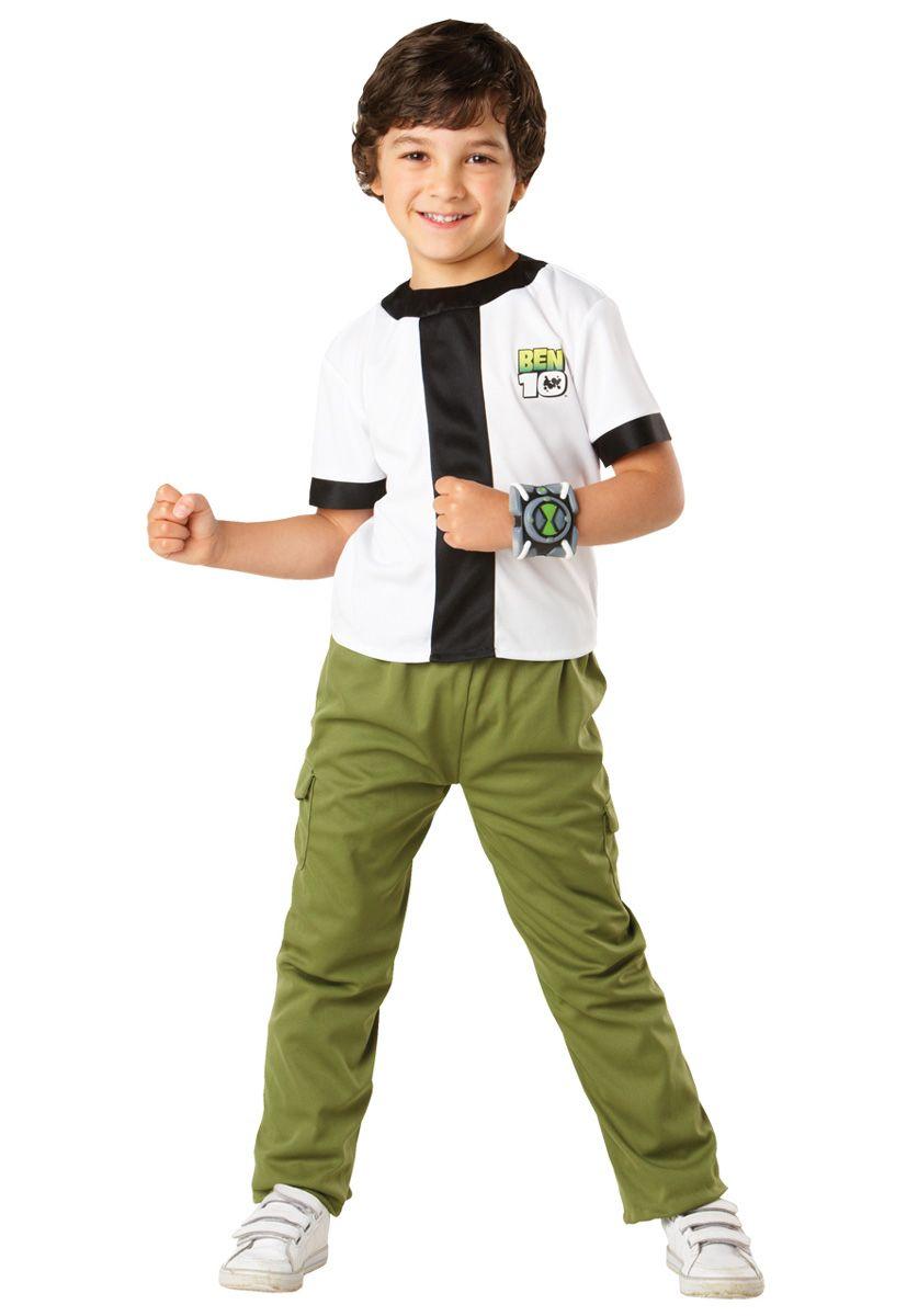 kids ben 10 costume classic cartoon fancy dress general kids costumes at escapade - Cartoon Kid Images