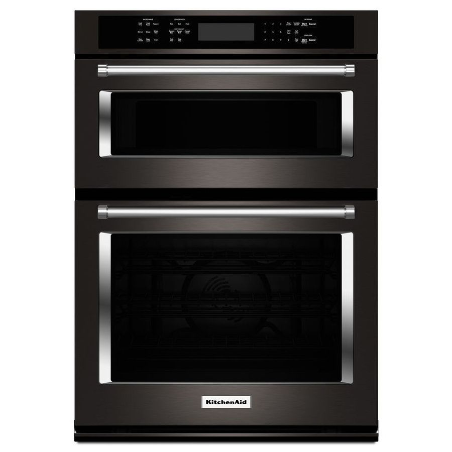 Selfcleaning Convection Microwave Wall Oven Combo (Black