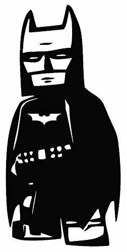 Lego Batman 6 Black Car Truck Vinyl Decal Art Wall Sticker Usa