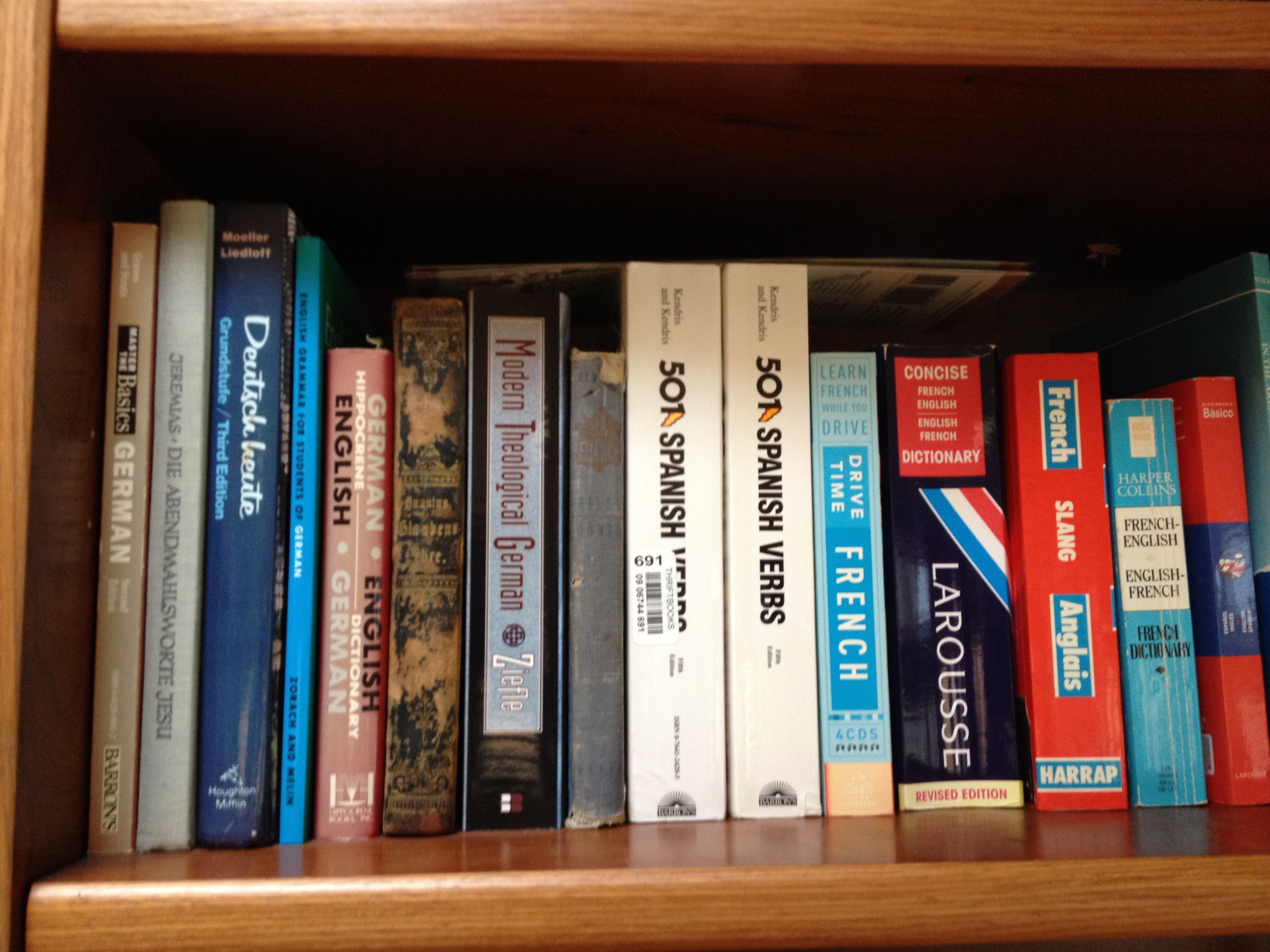 French And German Bookshelf At The Hayes Home More Books SinfulFolk