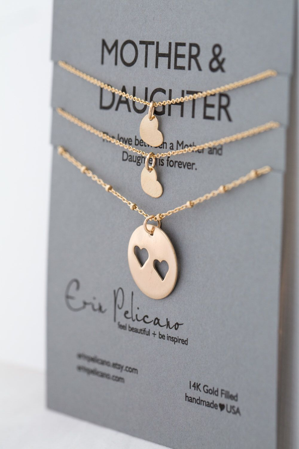 Mother Daughter Necklaces Gifts for Sisters Gift for