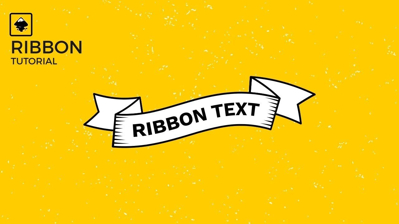 Inkscape Vector Tutorial Create A Vintage Ribbon Using Bend Path Effect Learning Graphic Design Vintage Ribbon Graphic Design Tutorials
