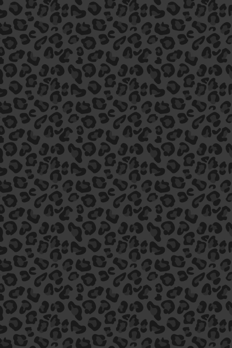 Iphone wallpaper leopar pinterest for Schwarze mustertapete