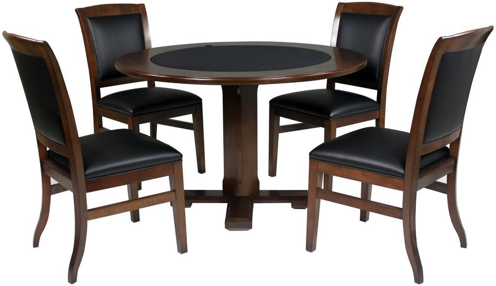 Game Table And Chairs Dining Room Conversion Card Poker