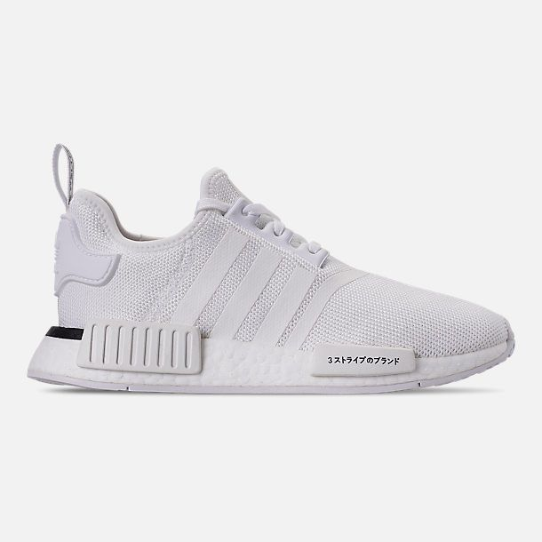 a0ebb3fdf7a677 Right view of Big Kids  adidas NMD Runner Casual Shoes in Footwear White  Footwear