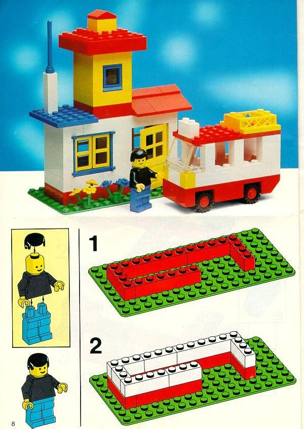 Old Lego Instructions Letsbuilditagain Bricks Pinterest