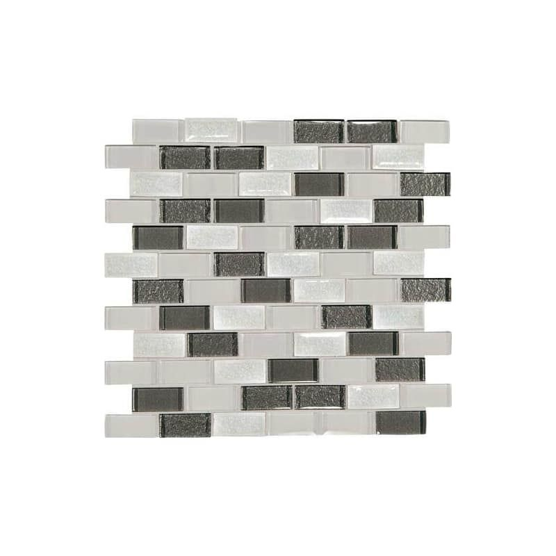 Daltile Cs21bjmsp Sample Crystal Shores 2 X 1 Brick Joint Mosaic Tile Smoo Diamond Delta Flooring Sample Tile In 2020 Mosaic Wall Tiles Mosaic Tiles Wall Tiles