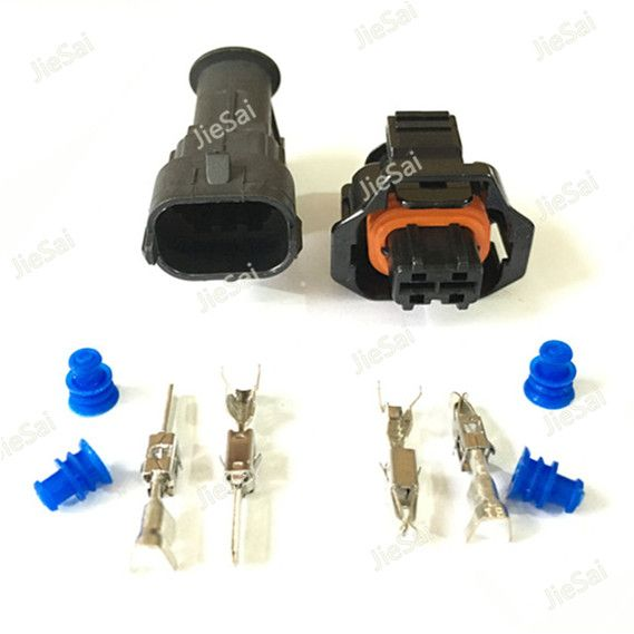 2 Pin Diesel Fuel Common Rail Injector Crankshaft Sensor